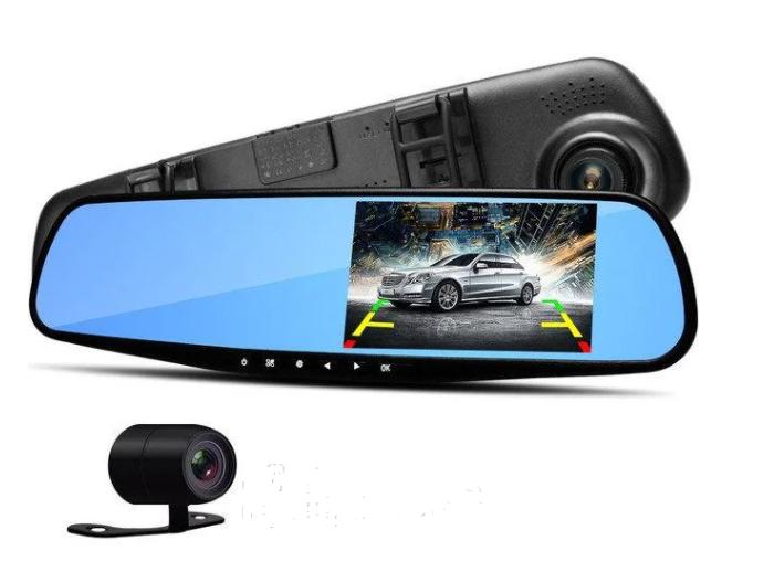 Авторегистратор видеорегистратор зеркало L604 с антибликовым покрытием Видеорегистратор с камерой
