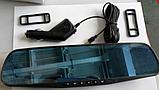 Авторегистратор видеорегистратор зеркало L604 с антибликовым покрытием Видеорегистратор с камерой, фото 6