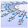 """Алмазная мозаика со специальными стразами . Набор алмазной вышивки """"Часы"""". Размер 35*35 см., фото 2"""