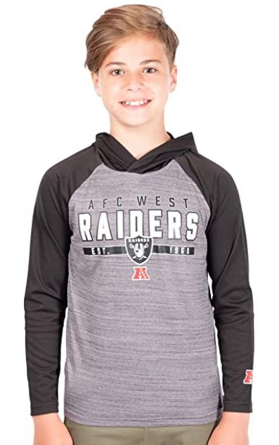 Спортивная кофта Ultra Game NFL Boys  Sweatshirt Hoodie - Heather (18-20 лет)