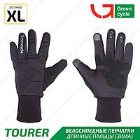 Green Cycle Tourer Велоперчатки зимние черные XL