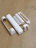 Декоративные накладки для фурнитуры масо белые, фото 4
