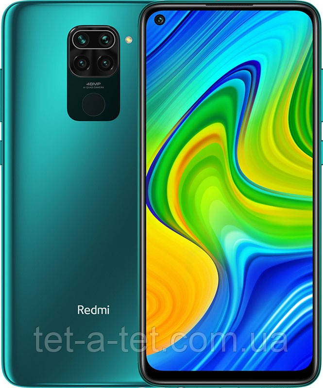 Xiaomi Redmi Note 9 3/64GB (NFC) Forest Green