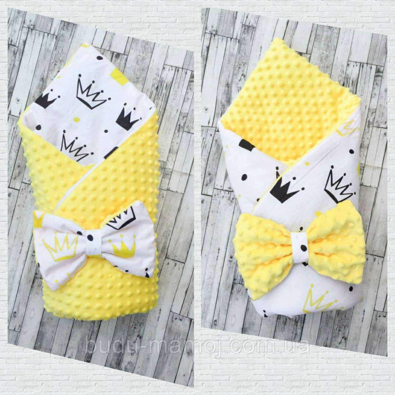 Конверт ковдру в пологовий будинок для новонародженого осінь весна Польща плюш Минки