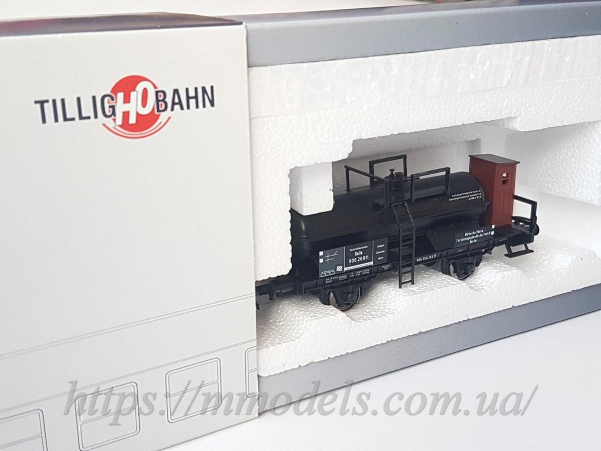 """Tillig 76562 модель 2х осной цистерны для перевозки кислоты  Säurekesselwagen """"WIFO Berlin"""" , масштаба 1:87,H0"""