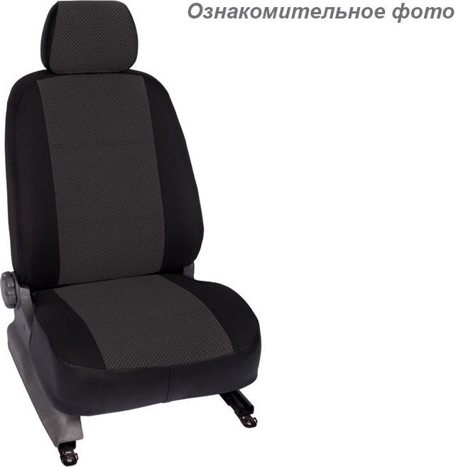 Чехлы салона Volkswagen Caddy 2004- Жаккард /темно-серый