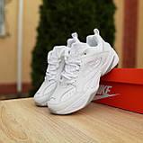 Жіночі кросівки в стилі Nike M2K Tekno білі, фото 4