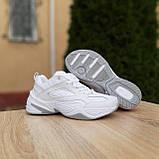 Жіночі кросівки в стилі Nike M2K Tekno білі, фото 5