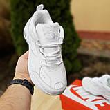 Жіночі кросівки в стилі Nike M2K Tekno білі, фото 7