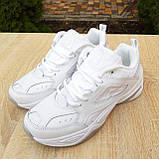 Жіночі кросівки в стилі Nike M2K Tekno білі, фото 9
