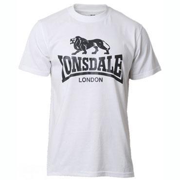 Мужская Футболка Lonsdale 119083 White