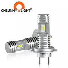 Автомобильные лампы LED Cnsunnylight H7 mini 10000LM 6000K