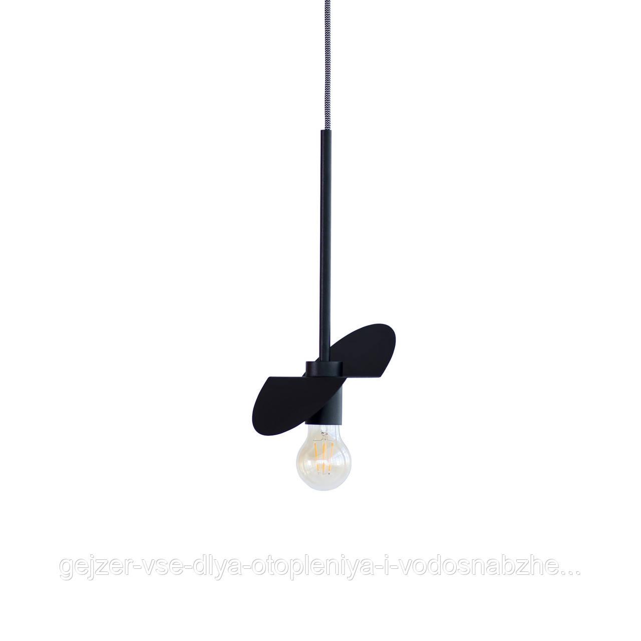 Потолочный подвесной светильник Atma Light серии Bird P170 Black