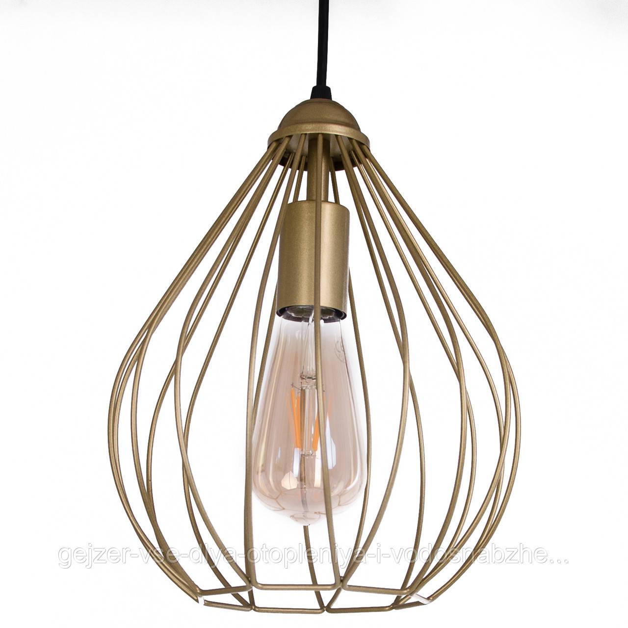Потолочный подвесной светильник Atma Light серии Tulipe P220 Gold