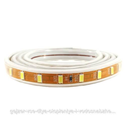 LED лента PROlum SMD5730-72 220V IP68 Стандарт БЕЛАЯ(100)