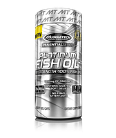 Омега 3 Platinum Fish Oil Muscletech 100 soft gel caps