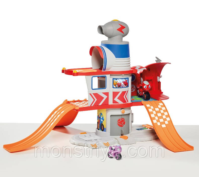 Игровой набор Ricky Zoom Спасательная Штаб квартира Рикки House Adventure со звуками