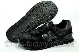 New Balance 574 Кроссовки мужские черные, фото 2