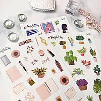 Стикерпак - набор стикер листов (33 штуки) MriyTaDiy