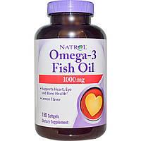 Омега 3 Natrol Omega-3 Fish Oil