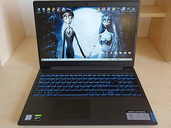 Игровой Ноутбук LENOVO IdeaPad L340 15.6 FHD i5-9300H/16GB/128GB ssd+1TB/NVIDIA GTX 1650, 4gb/ Пробег 13 дней