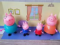 Игровой набор Семья Свинки 4 персонажа, фото 1