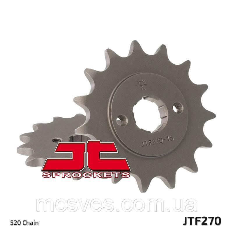 Звезда стальная передняя JT Sprockets JT JTF270.14