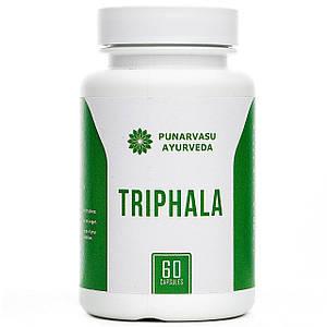 Трифала / Triphala - очищение, омоложение организма - Пунарвасу - 60 капсул
