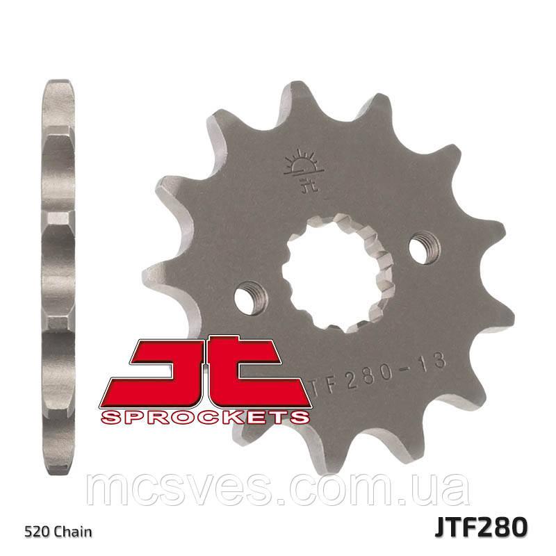 Звезда стальная передняя JT Sprockets JT JTF280.13