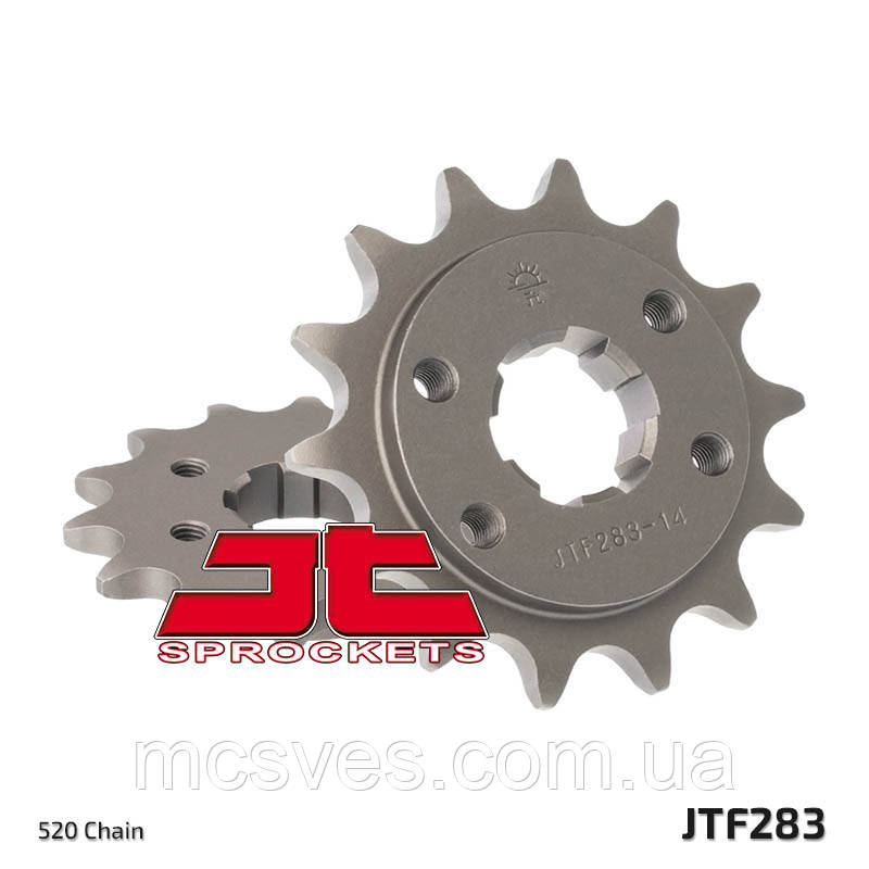 Звезда стальная передняя JT Sprockets JT JTF283.14