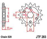 Звезда стальная передняя JT Sprockets JT JTF283.15, фото 2
