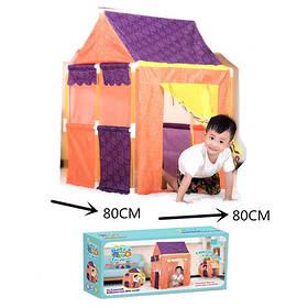 Палатка RE333-27  домик, 80-80-112см, 1вход на заязках, в кор-ке, 48-22-12см