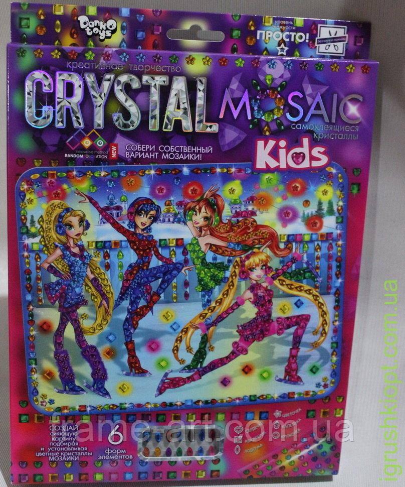 Набор Мозаика из кристаллов CRYSTAL MOSAIC Винкс DT crmk-01-02