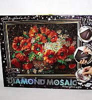 Алмазная живопись Diamond Mosaic Маки DM-01-06