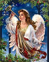 Алмазная вышивка DM-386 Ангел Рождества 50*40см