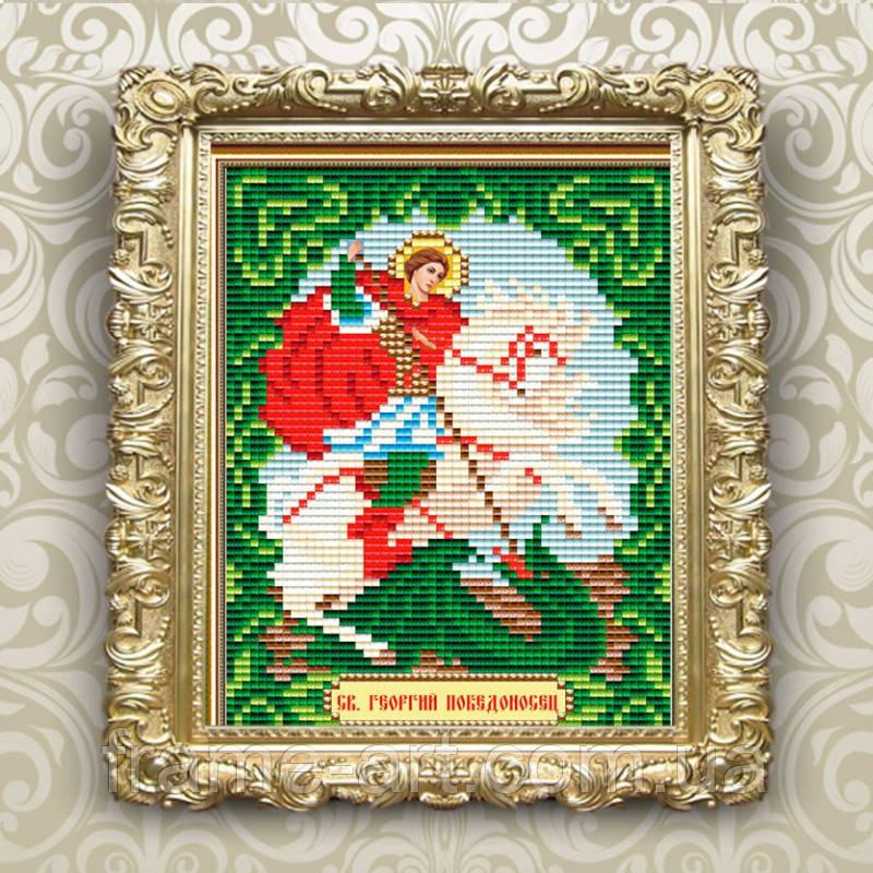 ArtSolo АТ6008 Георгий Победоносец, набор в алмазной технике