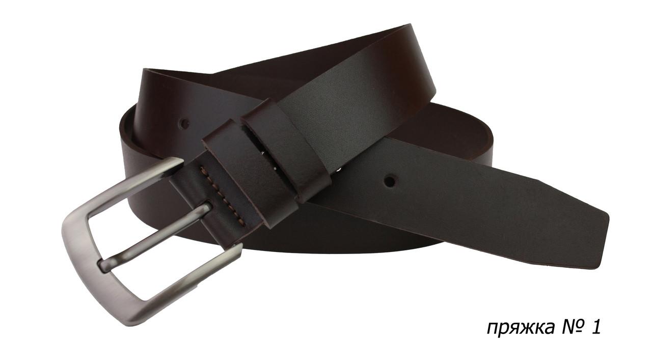 Ремень кожаный джинсовый SULLIVAN  RMK-01(7) 115-150 см коричневый