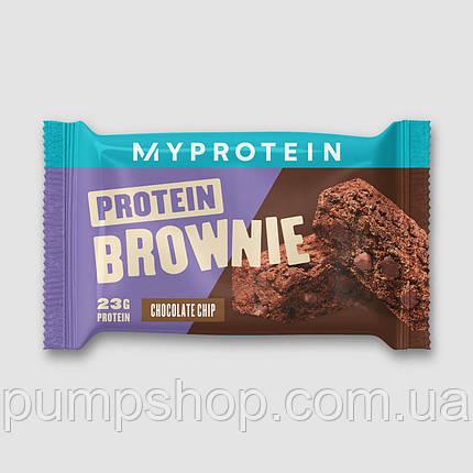 Протеїновий брауні Myprotein Protein Brownie 1 шт. 75 г, фото 2