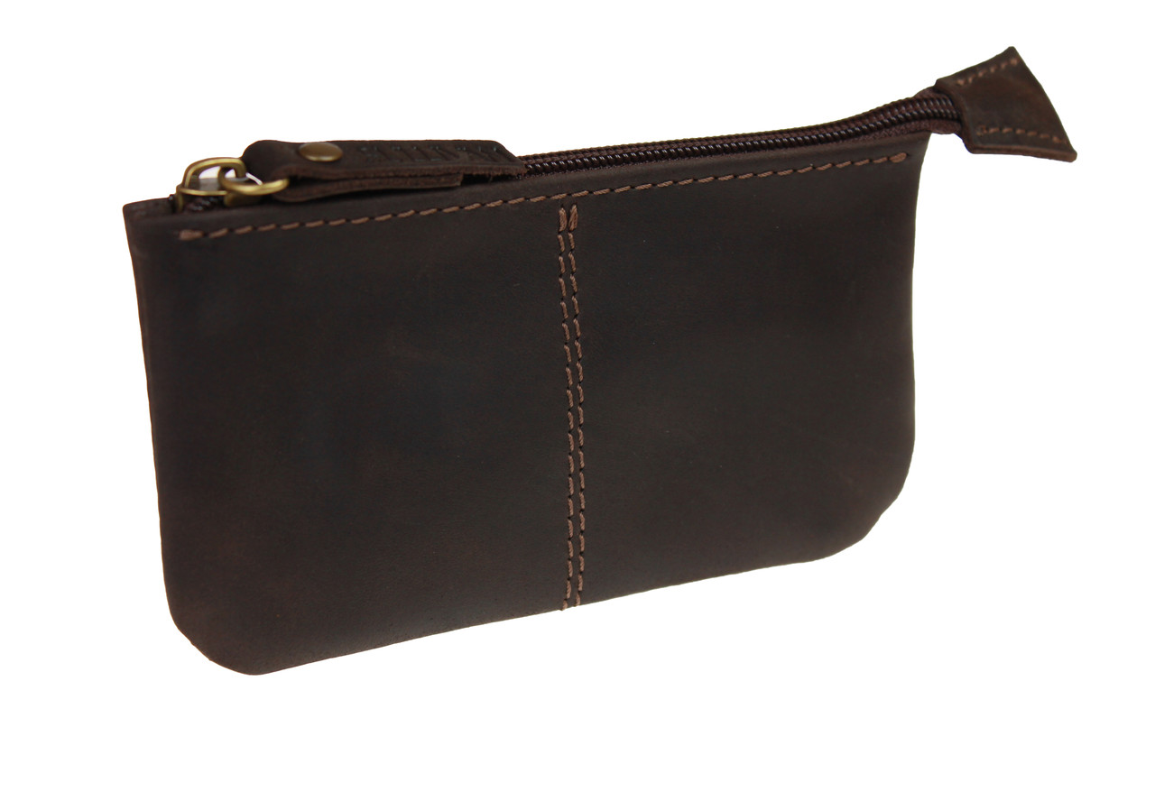 Ключница кожаная сумочка для ключей SULLIVAN k13(4) коричневая