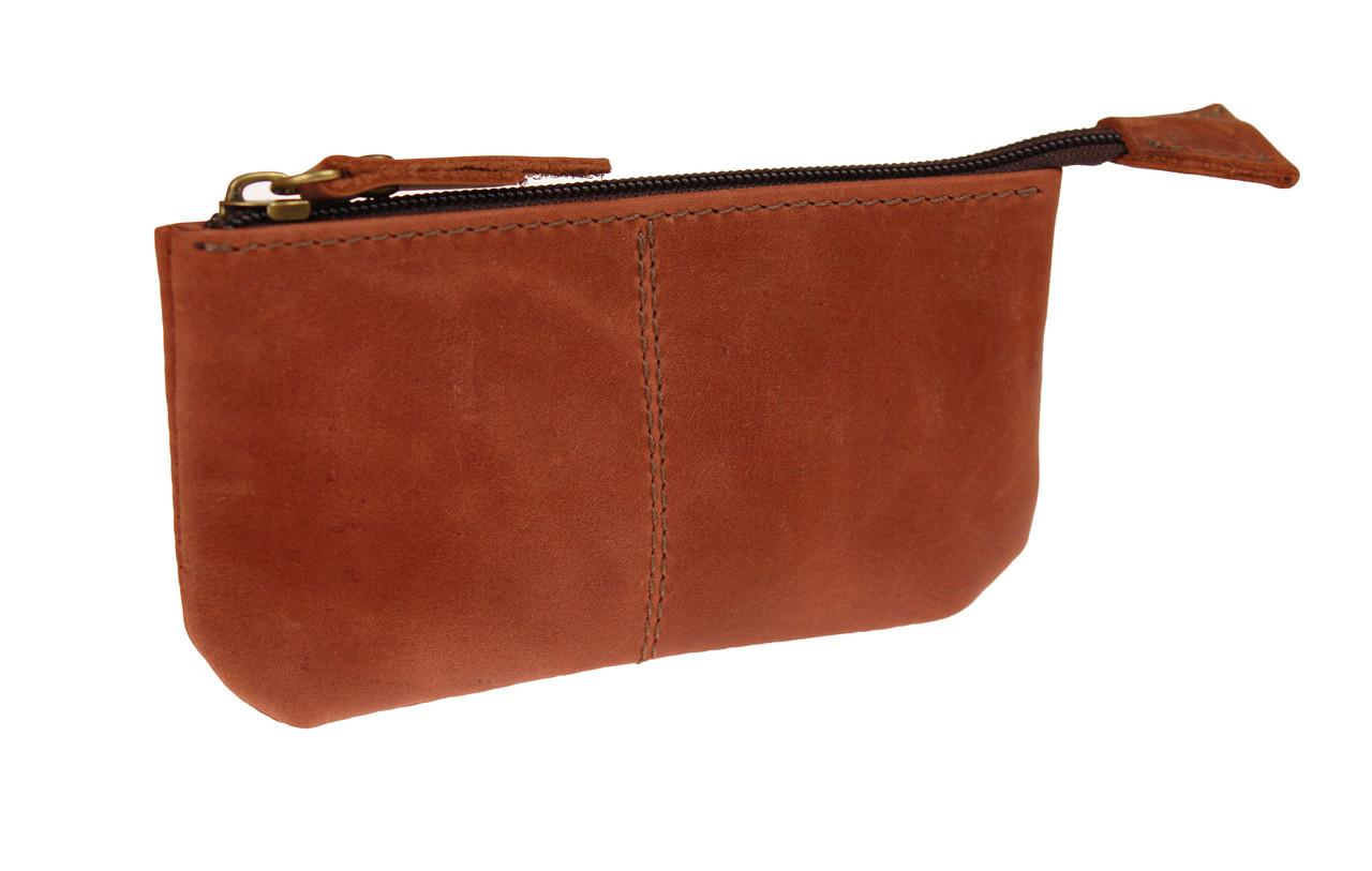 Ключница кожаная сумочка для ключей SULLIVAN k18(4) светло-коричневая