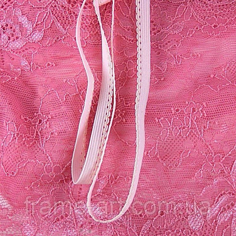 Бретелечная Резинка Эластичная 5463 Розовый 8мм