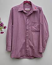 Чоловіча сорочка  на кнопках Розмір М ( Я-188), фото 2