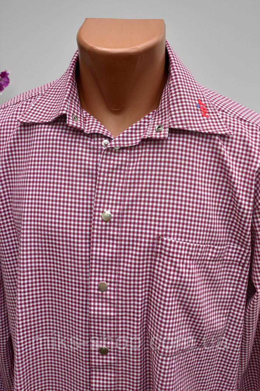 Чоловіча сорочка  на кнопках Розмір М ( Я-188)