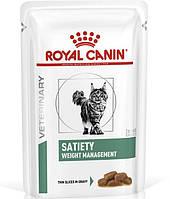 Royal Canin Satiety Weight Management Влажная диета для снижения избыточного веса у кошек 85 г