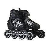 Ролики: раздвижные, полиуретановые колеса, фото 5
