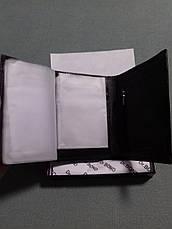 Мужской вместительный кошелек портмоне из натуральной кожи Classic DR. BOND 24612-2 черного цвета, фото 2