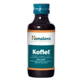 Кофлет сироп / Koflet cough syrup - при будь-якому вигляді кашлю - Хималая - 100 мл