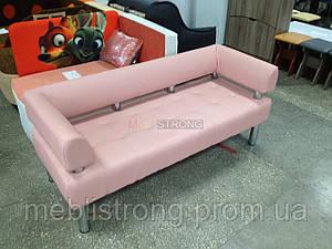 Диван для офиса Стронг (MebliSTRONG) - нежно-розовый матовый цвет