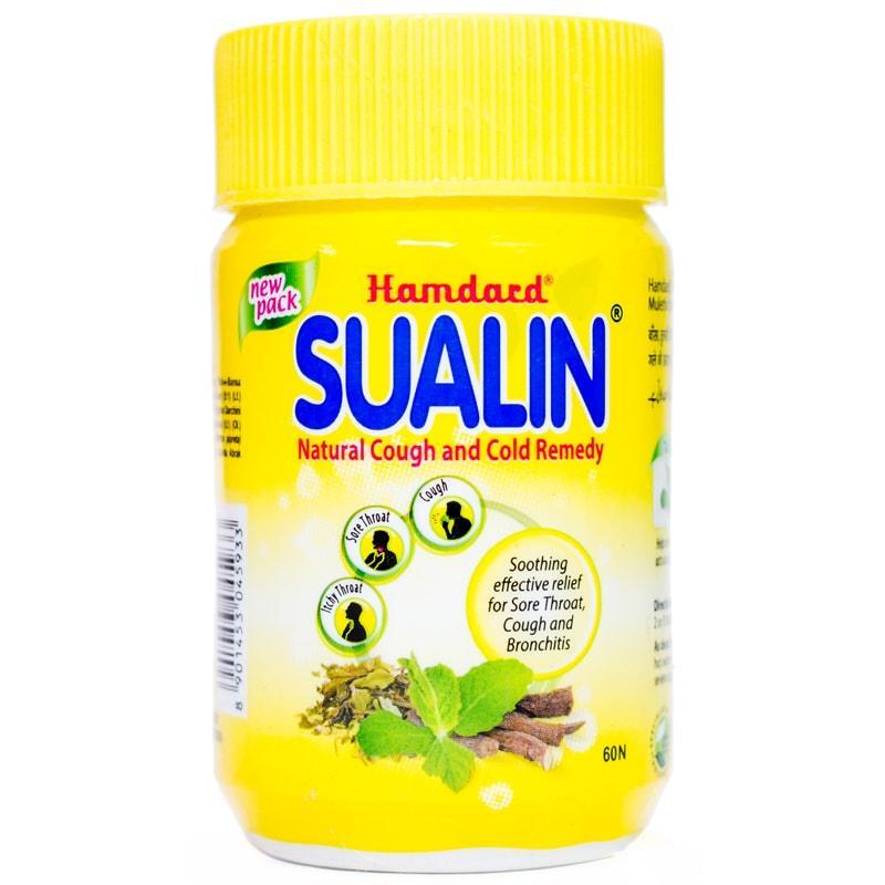 Суалин / Sualin - від кашлю, застуди, ангіни - Хамдард - 60 таб
