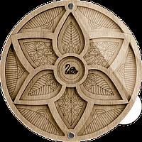 Органайзер для бисера с крышкой FLZB-021 14*14см